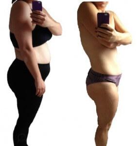 Klienten tabte 13 kilo og 50 cm