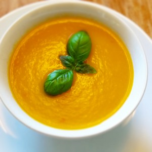 Gulerodssuppe på 30 minutter