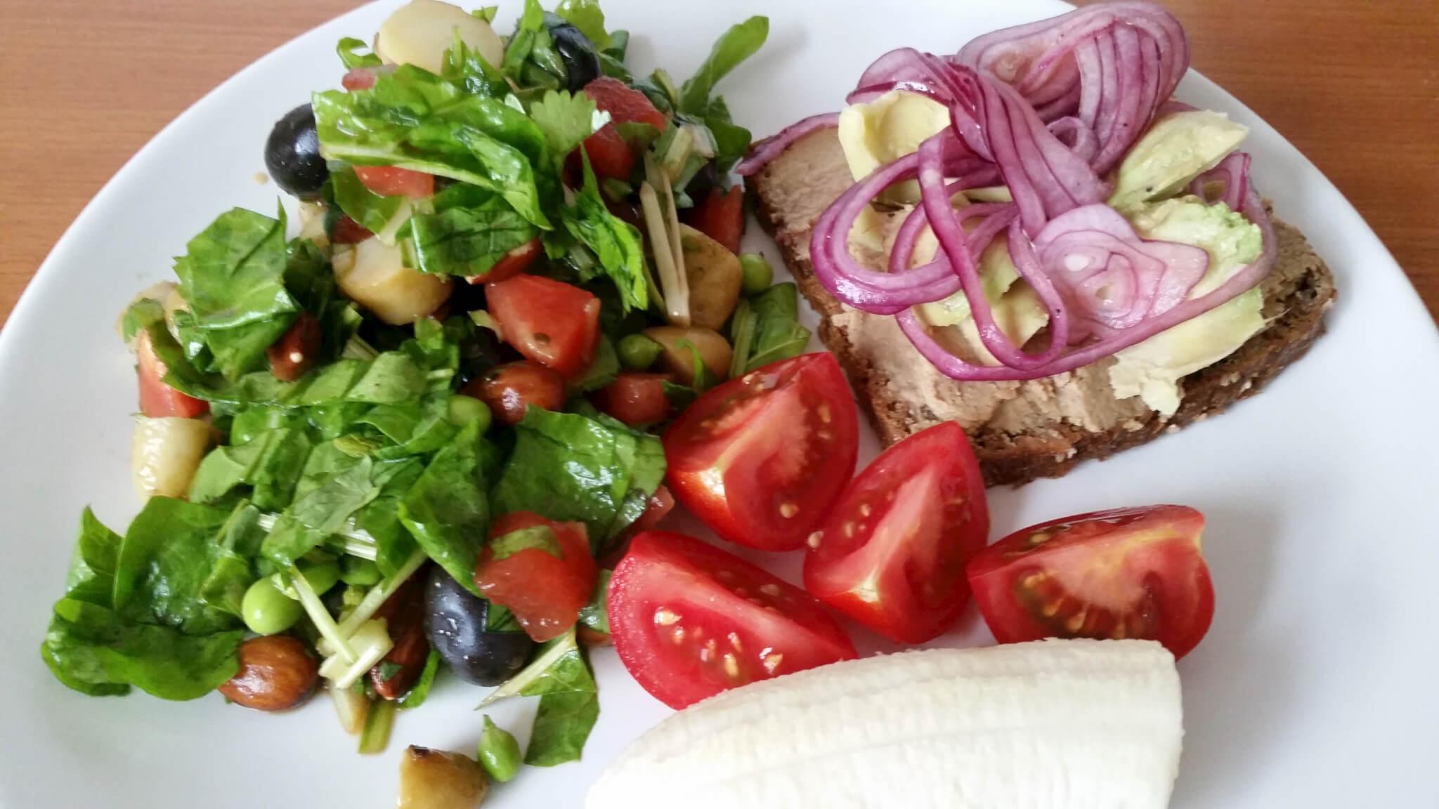 Vegansk frokost