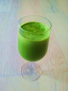 grøn juice er god næring til din krop