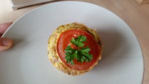 ægemuffin tomat skinke opskrift