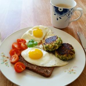 squashfrikadeller til morgenmad